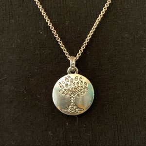 Fossil Tree of Life necklace